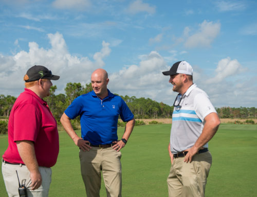 By Renovating Old Marsh Golf Club Saves Water and Labor