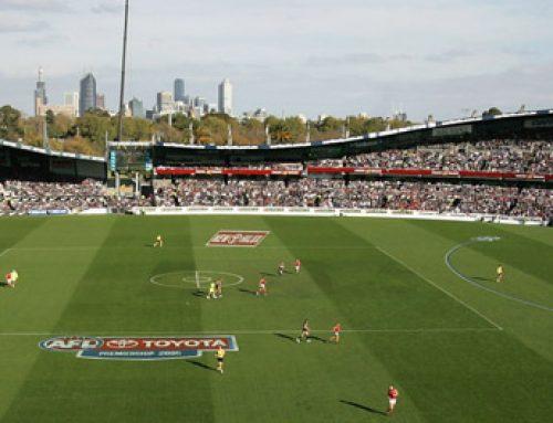 Australian Women Football League Grand Final hosted by Visy Park