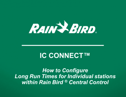 How to Configure Long Run Times for Individual Stations with IC CONNECT™