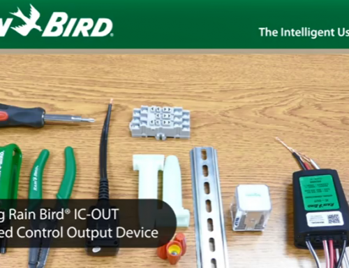 Rain Bird IC CONNECT™のデバイス、IC-OUTの取付方法