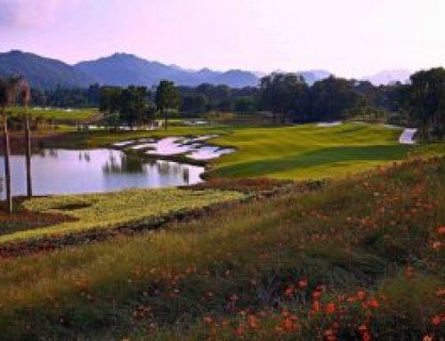 珠海翠湖(Zhuhai )レイクウッドゴルフクラブ改造で節水を実現