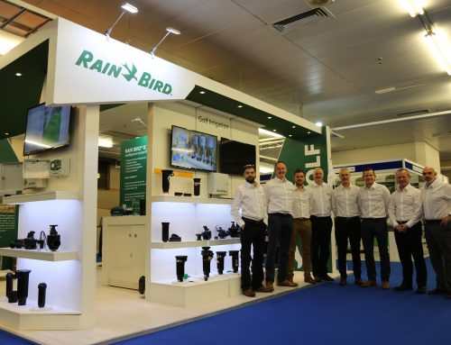 BTME 2019 is Bustling for Rain Bird as New Golf Products Make Their UK Debut