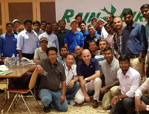 Rain Bird Golf Technical Training in Dubai