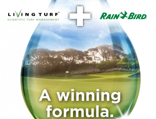 Living Turf® partners with Rain Bird®  to create a winning formula for Australian golf courses