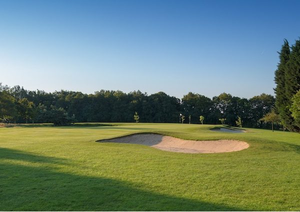 Goring and Streatley Golf Clubの 7番ホール