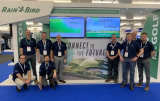 Rain Bird European team at BTME 2020