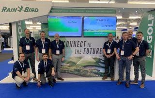 Rain Bird European team at BTME 2020